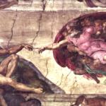 בריאת האדם, מיכלאנג'לו, איטליה 1511