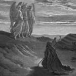 גוסטב דורה (צרפת, מאה ה-19), אברהם ושלושת המלאכים