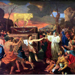 פולחן עגל הזהב, ניקולס פוסין, איטליה, 1633