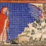 משה והסנה, הגדת סרייבו, 1314