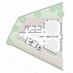 תכנית מפלס הקרקע של בית בבת עין