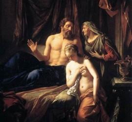 שרה מציגה את הגר בפני אברהם - רובנס
